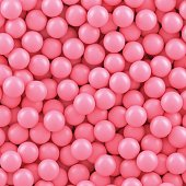 Background of many pink candy balls