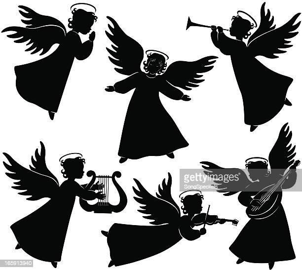 Angels Silhouetten