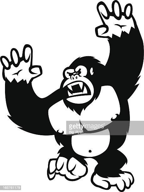 Gorilla Stock Illustrations and Cartoons   Getty Images - photo#29