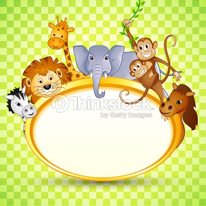 Animal in baby shower invitation vector art thinkstock animal in baby shower invitation vector art stopboris Image collections
