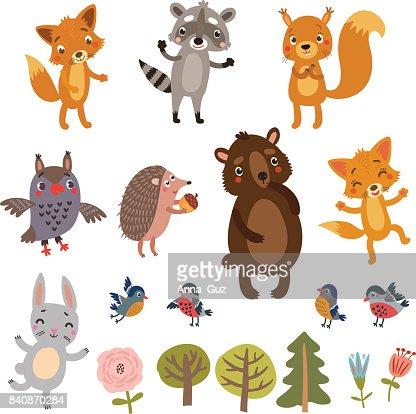 Animals vector set : Vector Art