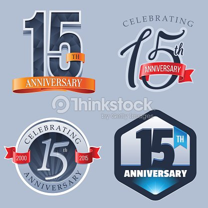 Anniversary 15 Years Vector Art Thinkstock