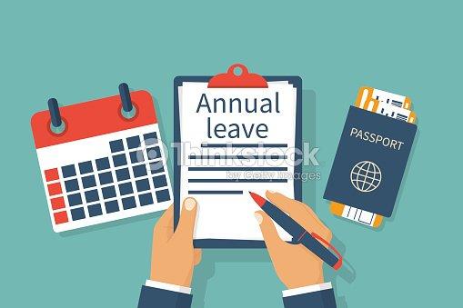 annual leave vector vector art thinkstock