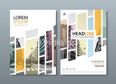 Annual Report Brochure Flyer Design Template Leaflet Cover