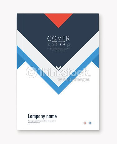 Annual Report Cover Design Stock Photos and Images