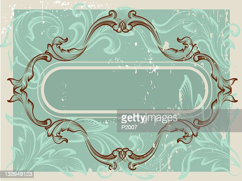 Antique Frame : Vector Art