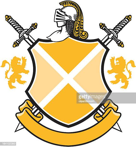 Antique Shield Coat of Arms