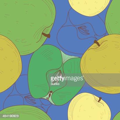 Apple textura de : Arte vectorial