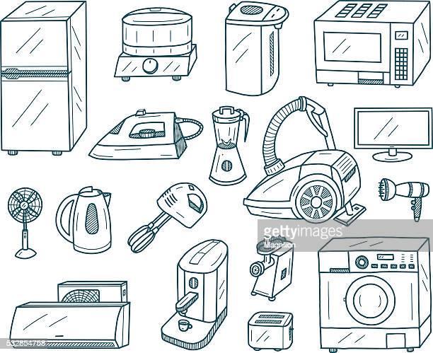 Electrodomésticos y garabatos