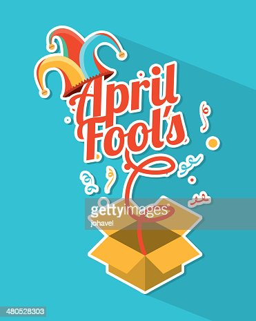 april fools day : Vector Art