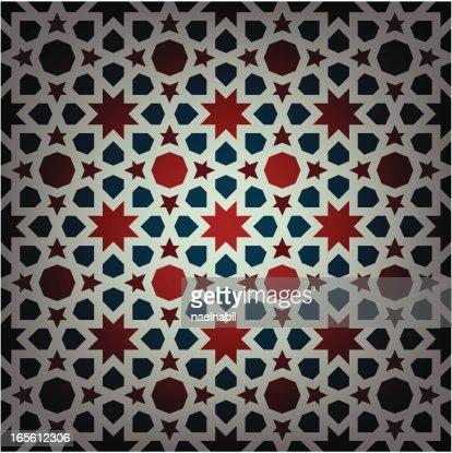arabesque islamique carrelage clipart vectoriel getty images. Black Bedroom Furniture Sets. Home Design Ideas