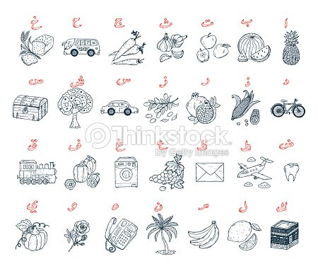 Árabe Con Dibujos De Cartas Árabe Alfabeto Para Colorear Página Para ...