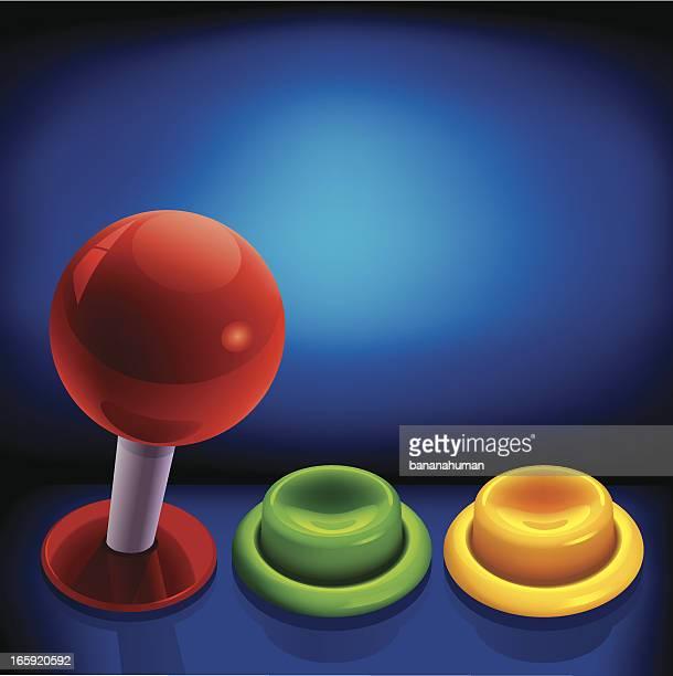 Arcade Joystick and Push Button