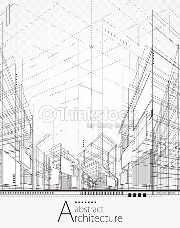 Architectural Abstract Background : stock vector