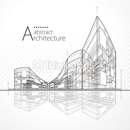 Architectural Abstract Design : stock vector
