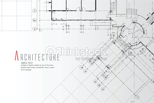 Architecture Background. : stock vector
