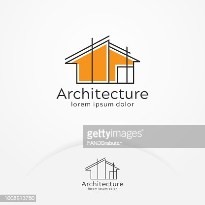 Architecture logo design : Vector Art