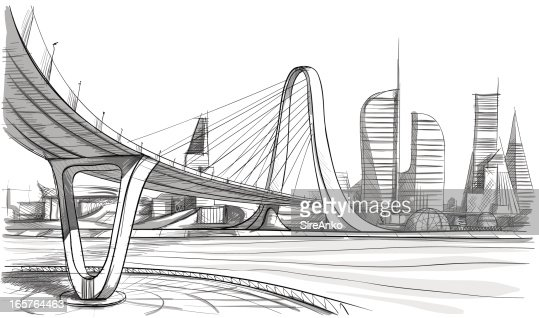 architectural drawings of bridges. Architecture Vectorkunst | Getty Images Architectural Drawings Of Bridges Architectural Drawings Of Bridges