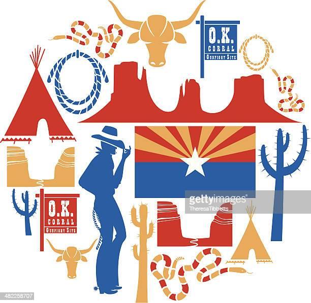 Arizona Icon set