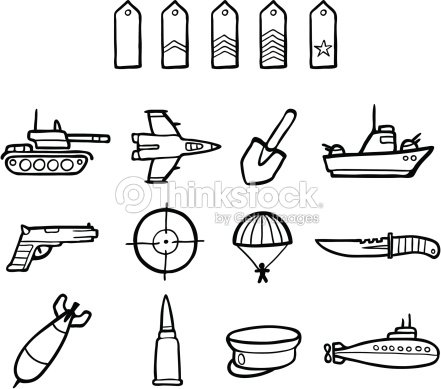Army Symbols stock vector - Thinkstock