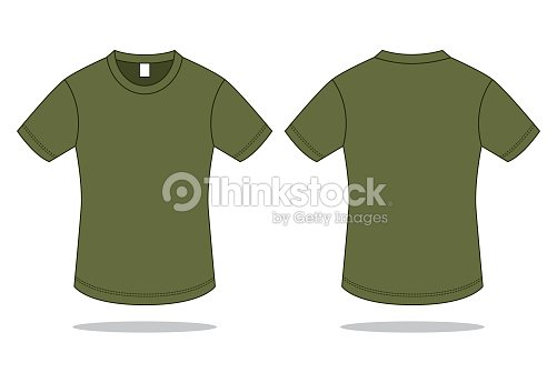 Army T Shirt Vector For Template