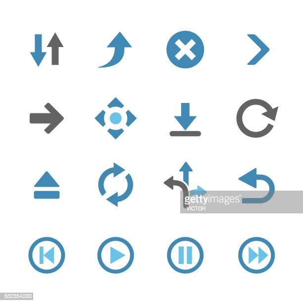 Arrows Icons - Conc Series