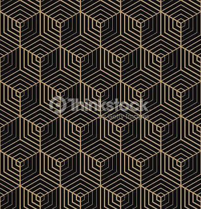 motif hexagone art d co clipart vectoriel thinkstock. Black Bedroom Furniture Sets. Home Design Ideas