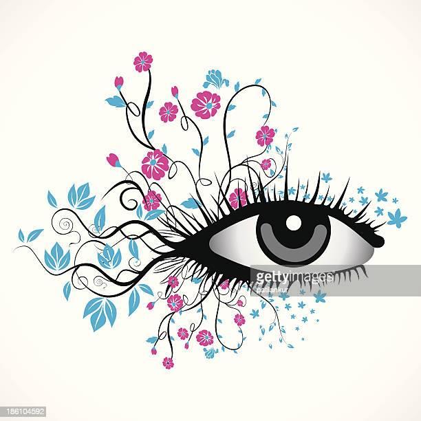 Künstlerische eye