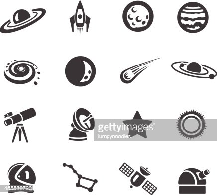 astronomy clipart black and white - photo #46
