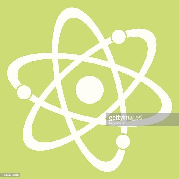 Atom Green Background