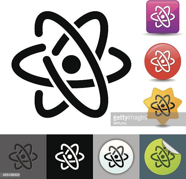 Atom icon | solicosi series