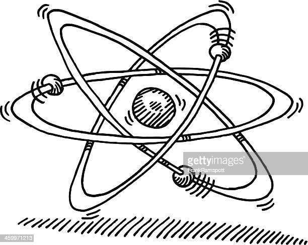 Atom Molecular Structure Symbol Drawing