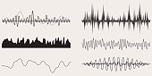 Sound Wave,Vector Set for Your Projects