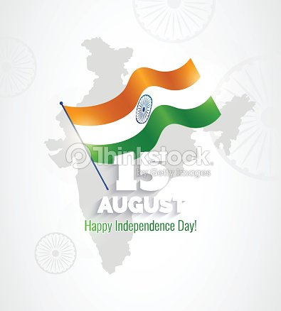15 august indian independence day greeting card vector art thinkstock indian independence day greeting card vector art m4hsunfo