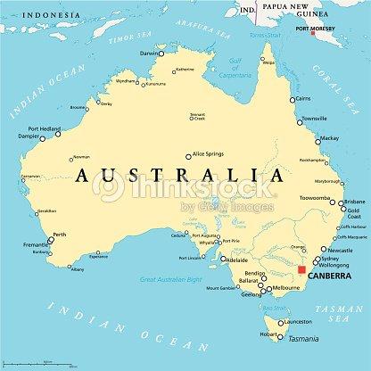 Location Of Torres Strait Islands To Melbourne