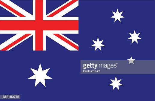Australia : stock vector