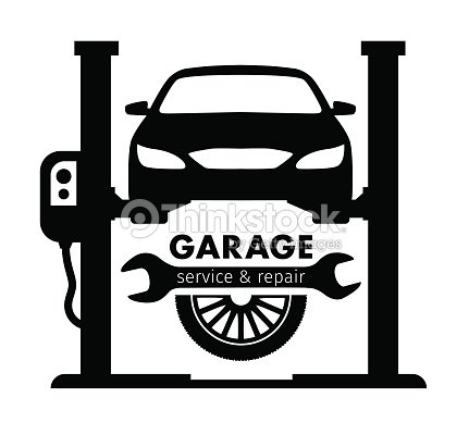 Centre auto garage de service et la r paration de logo for Garage automobile reparation