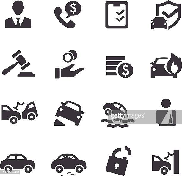 Auto Insurance Icons - Acme Series