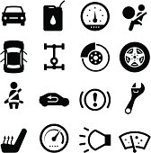Various car parts. Professional clip art for your print or Web project. See more in this series.