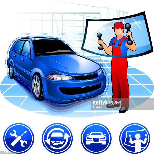 Auto repair - auto-glass replacement