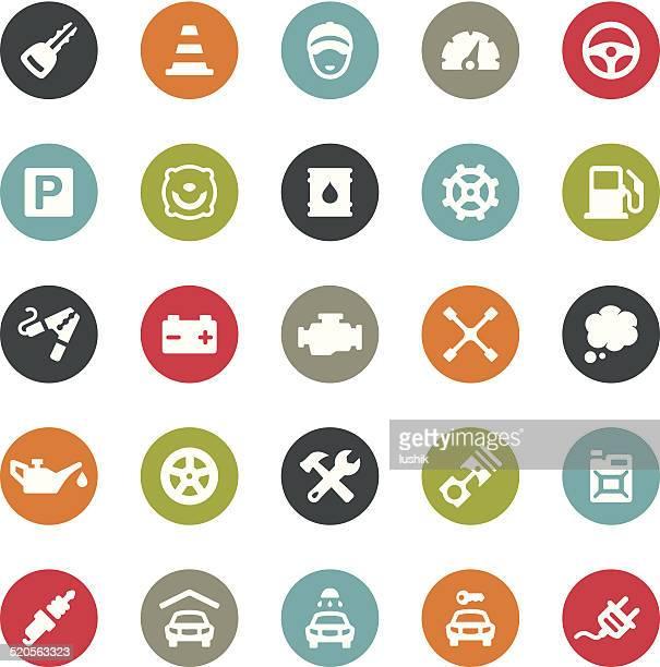Auto Repair Shop icons / Ringico series
