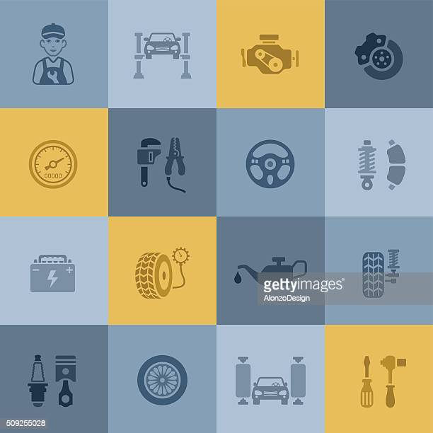 fuse box vector art and graphics getty images auto service icons