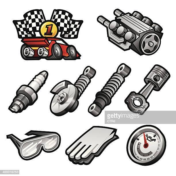 Iconos de automoción