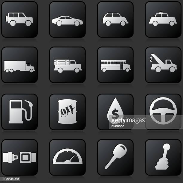 automotive royalty free vector icon set