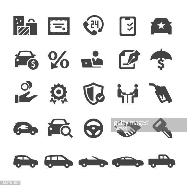 Automotive Sales Icons - Smart Series