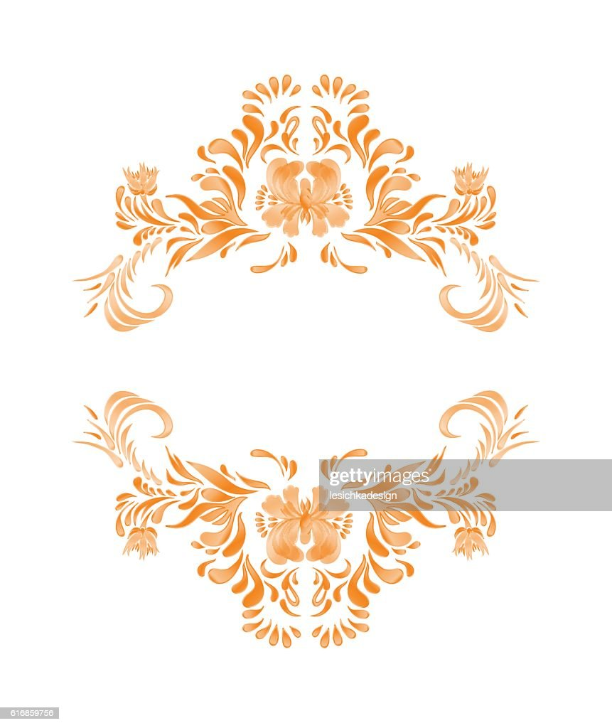 Autumn leaves and flowers set : Vector Art