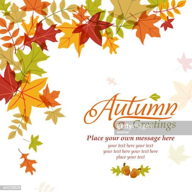 L'automne affiche