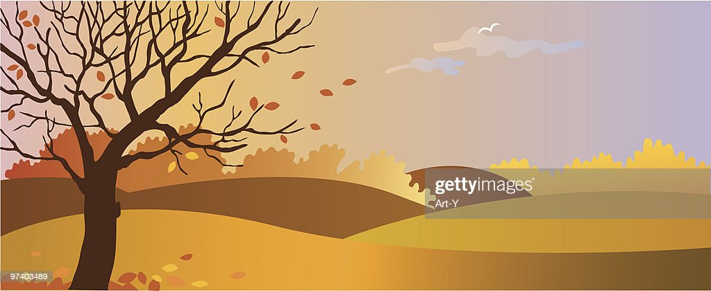 Autumn : Vector Art