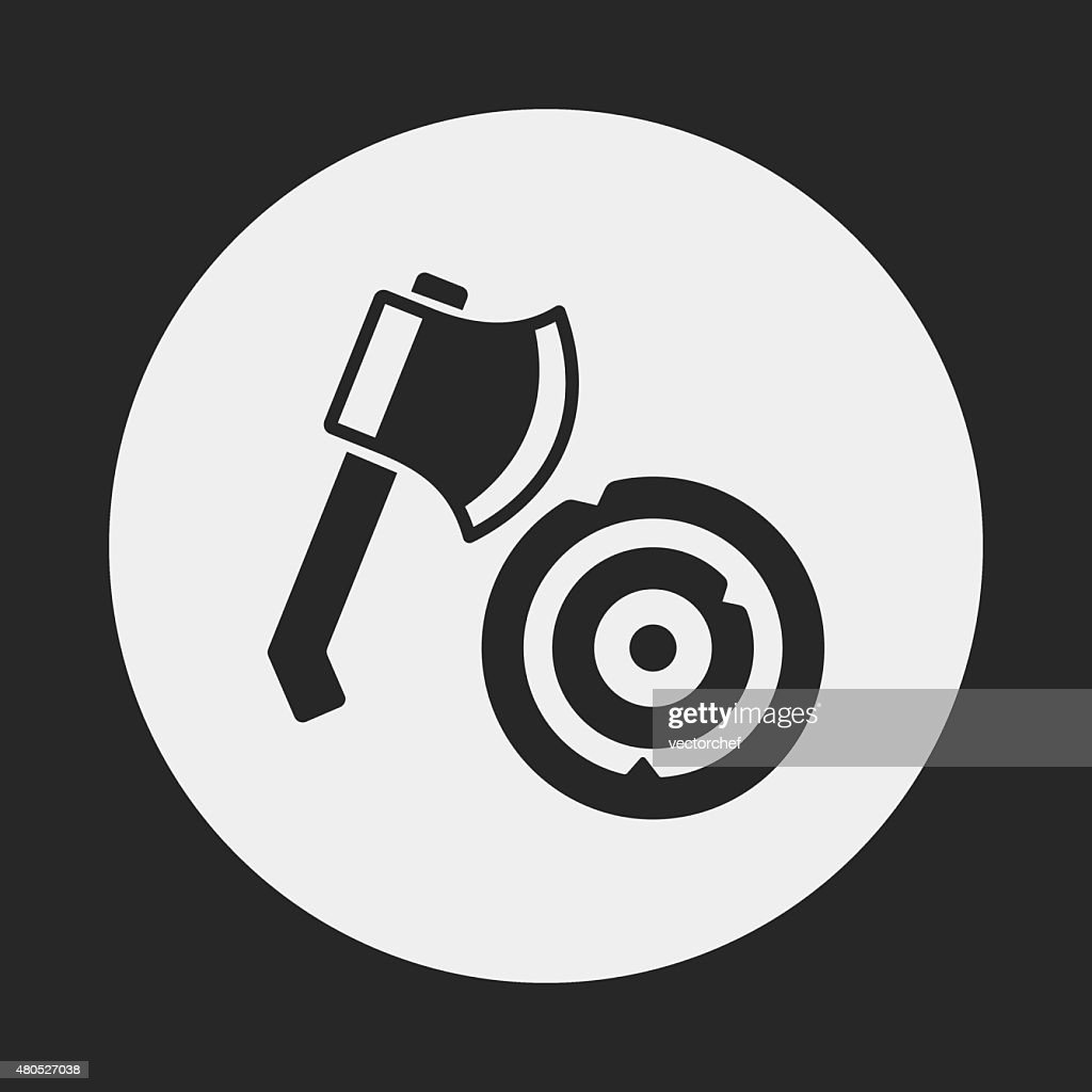 Axt-Symbol : Vektorgrafik