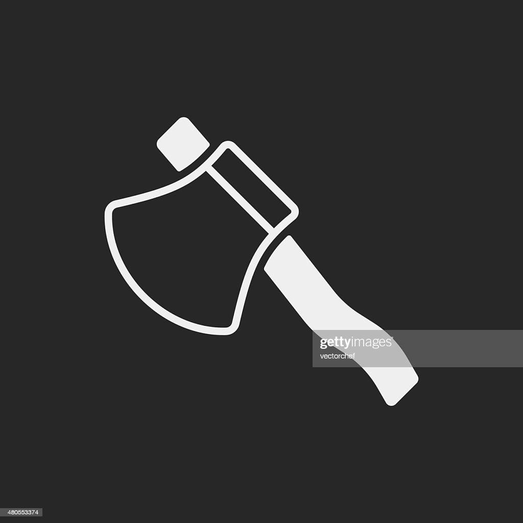 axe icon : Vector Art